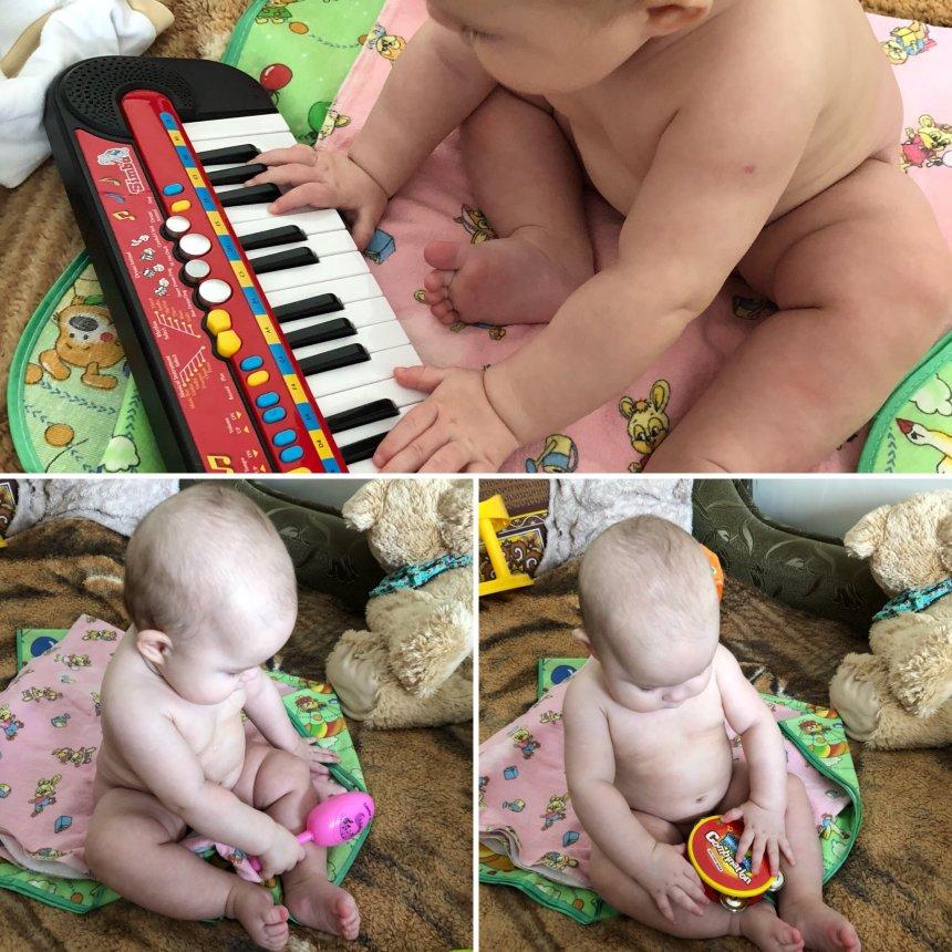 Отчёт по занятию Первые музыкальные инструменты в Wachanga!