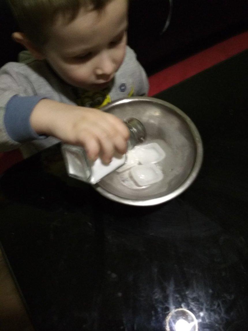 Отчёт по занятию Поиграйте со льдом в Wachanga!