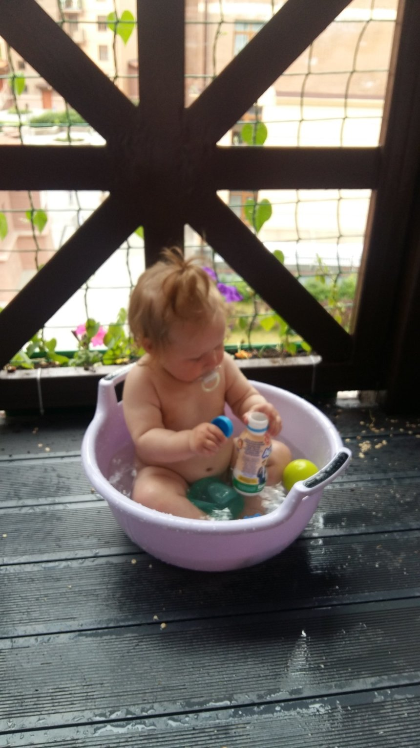 Отчёт по занятию «Шумовые бутылочки» для малышей в Wachanga!