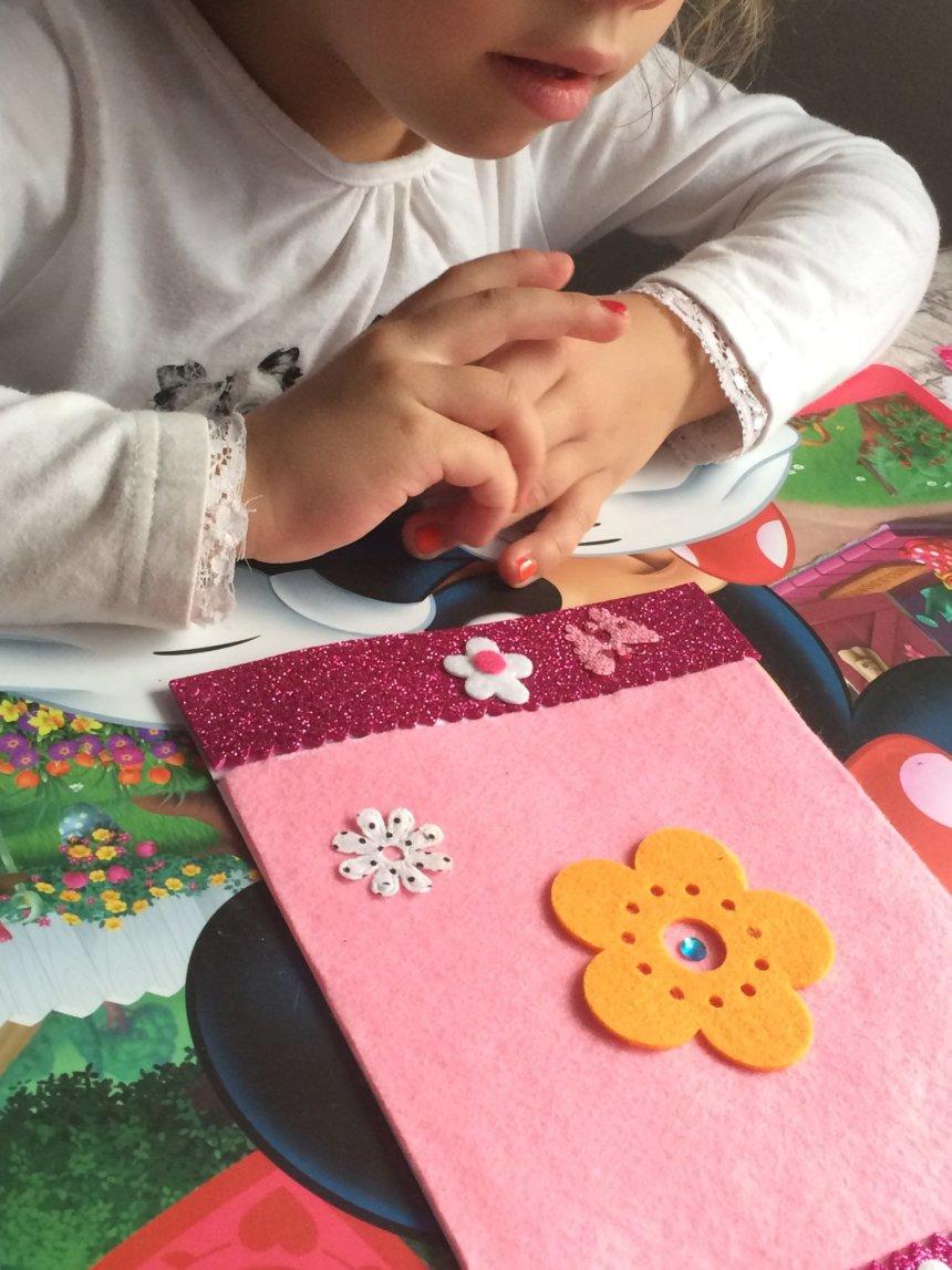 Отчёт по занятию Поздравительная открытка с цветочком в Wachanga!