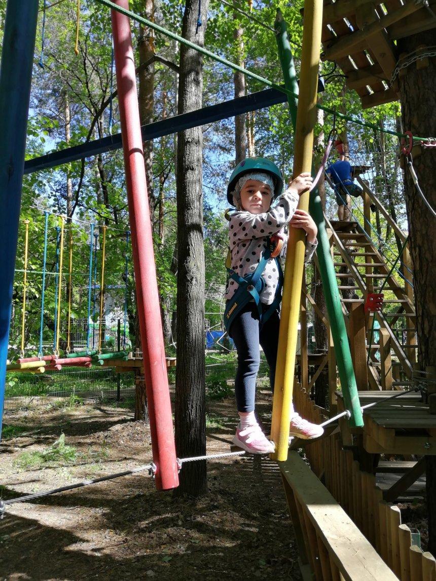 Отчёт по занятию Ловкость, воля и адреналин в Wachanga!