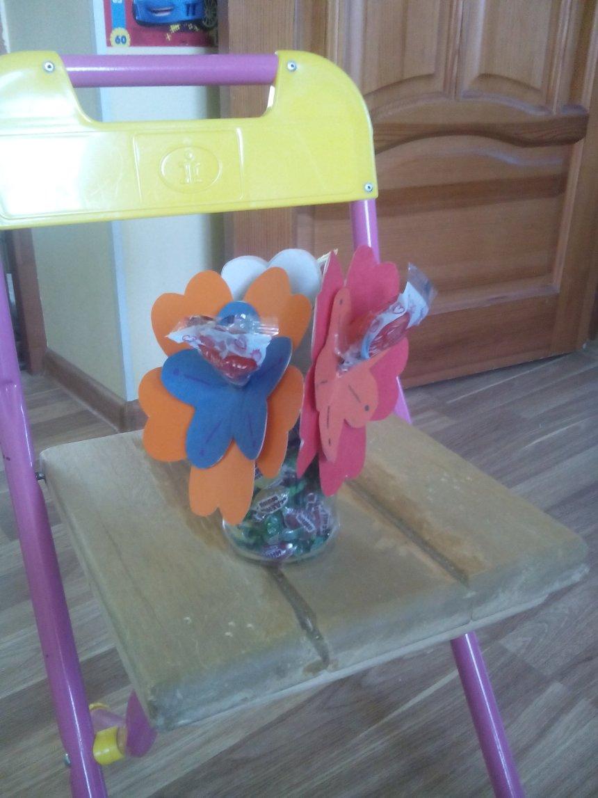 "Отчёт по занятию Сладкие подарки ""Цветочки"" в Wachanga!"