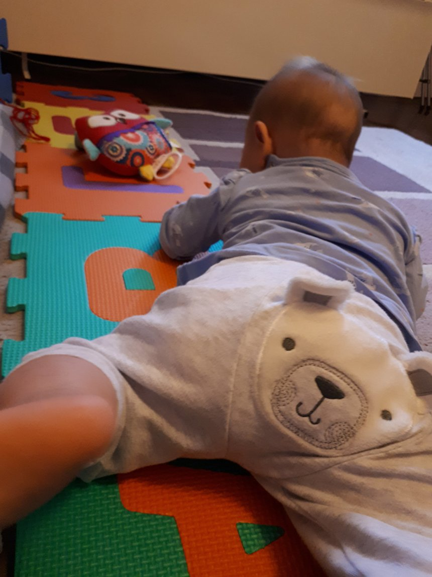 Activity report for Helping your baby learn to crawl in Wachanga!