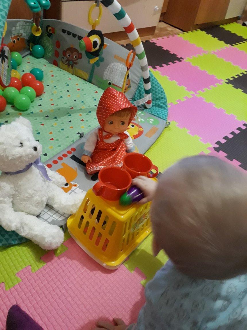 Отчёт по занятию Научите малыша пользоваться чашкой в Wachanga!