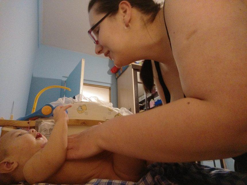 Отчёт по занятию Упражняем малыша в гулении в Wachanga!