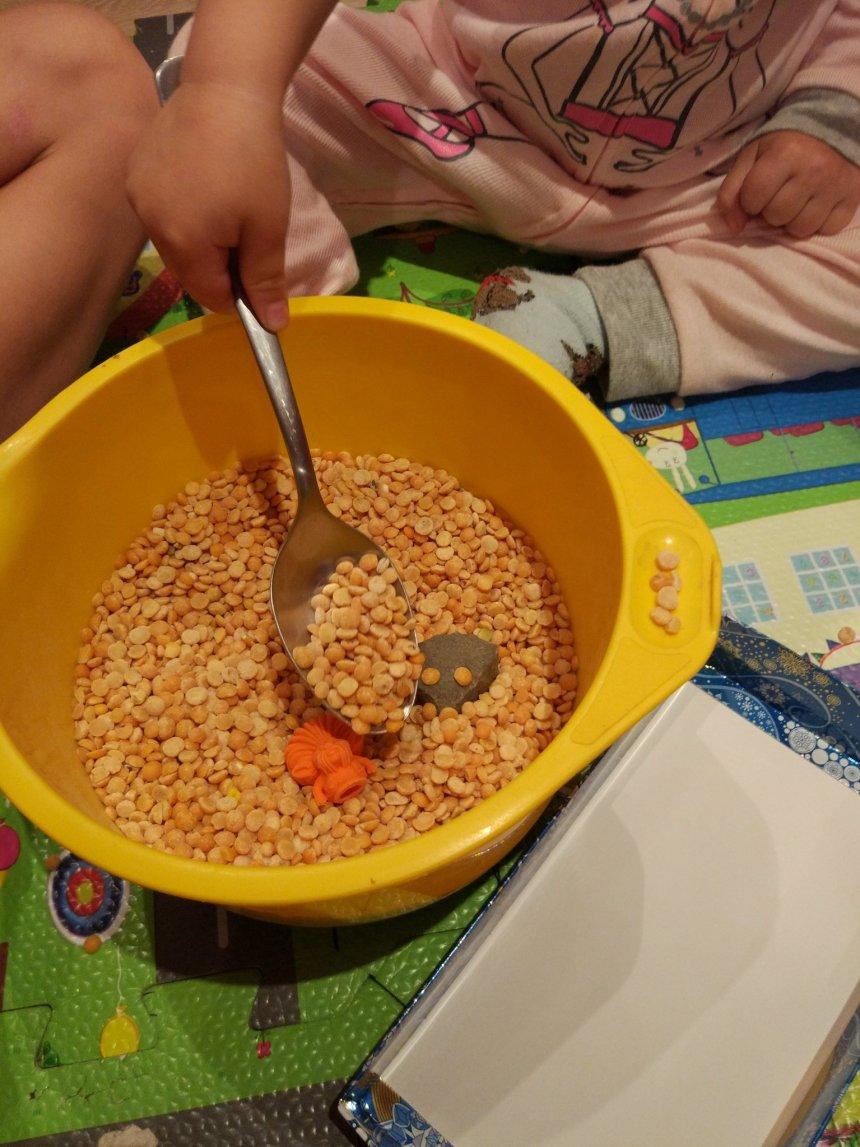 Отчёт по занятию Поиграйте с малышом в игру «Раскопки» в Wachanga!
