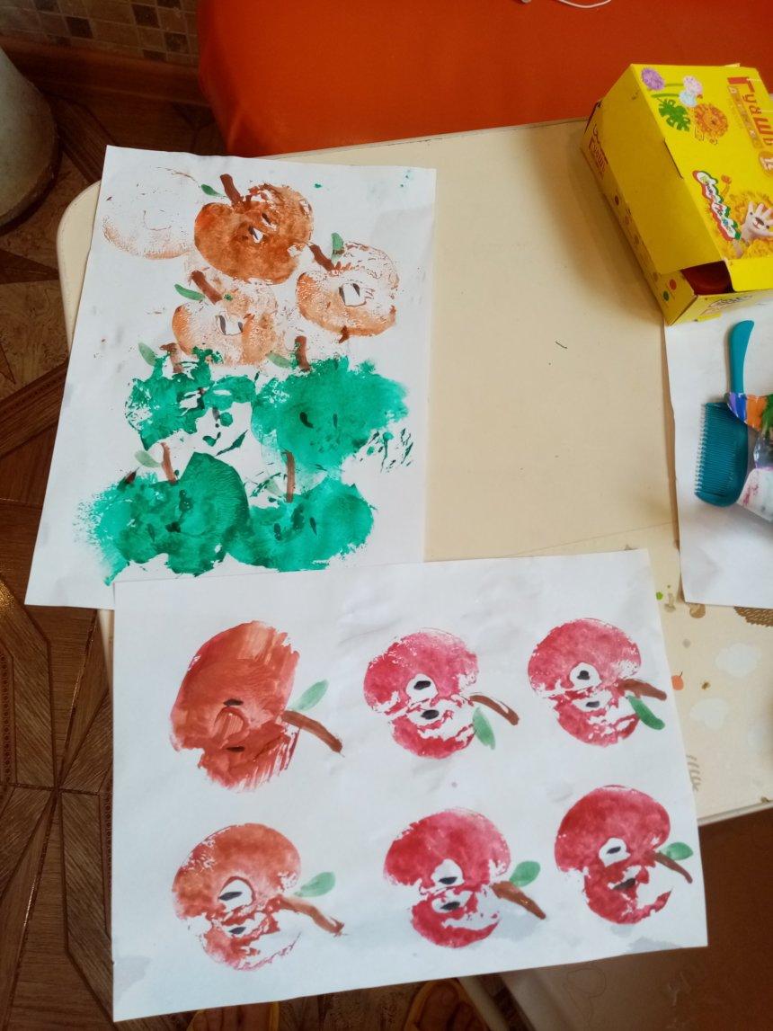 Отчёт по занятию Осенняя оберточная бумага в Wachanga!
