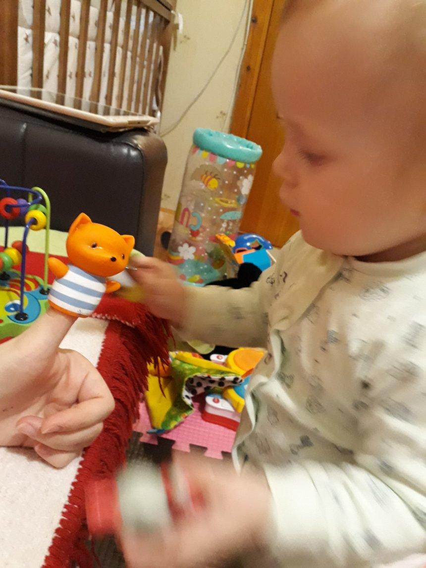 Отчёт по занятию Игра «Кукольный театр»  в Wachanga!