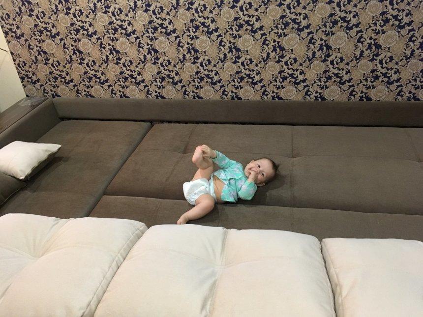 Отчёт по занятию Диванные подушки в Wachanga!