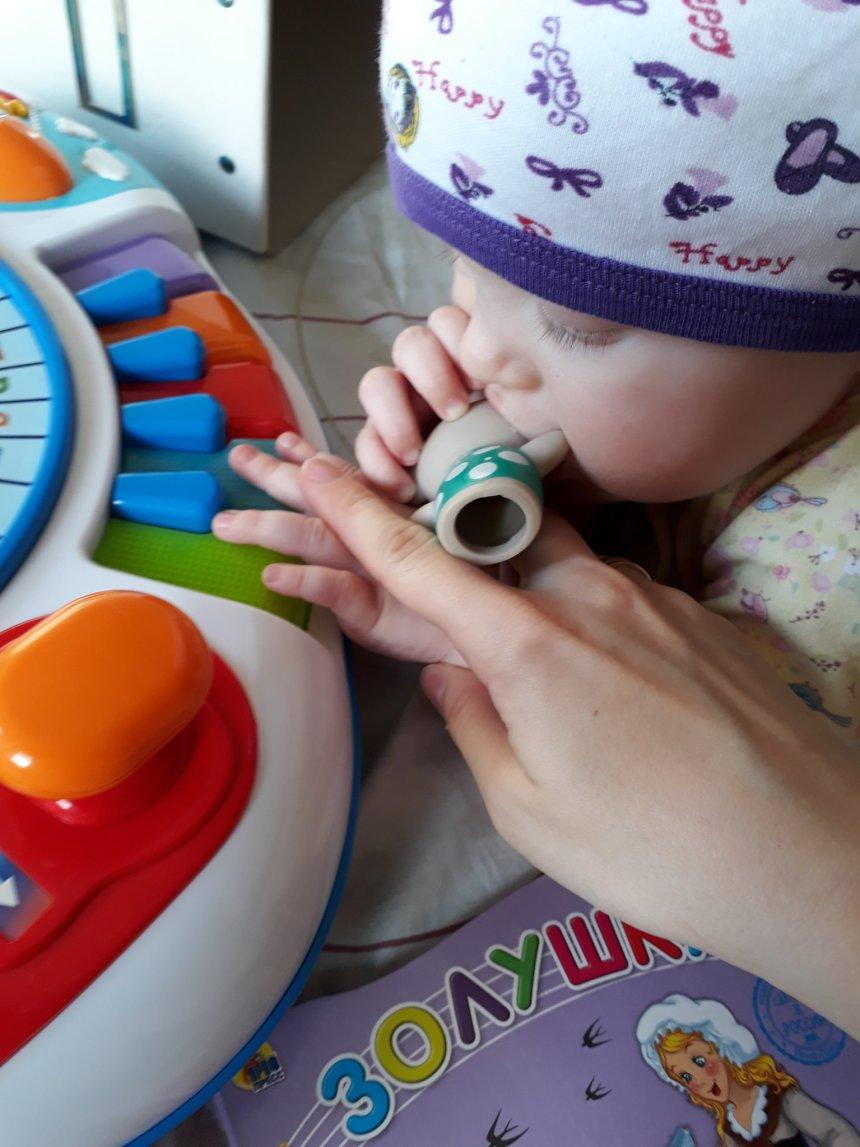 Отчёт по занятию Детское пианино в Wachanga!