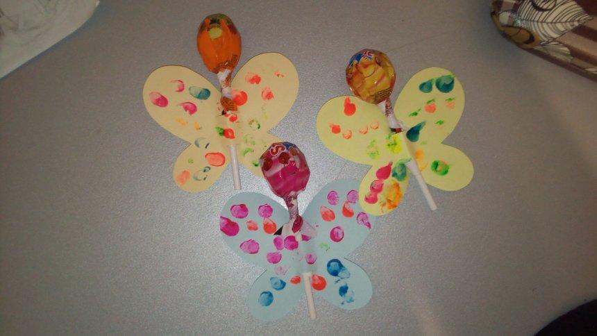 Отчёт по занятию Сладкие подарки «Бабочки» в Wachanga!