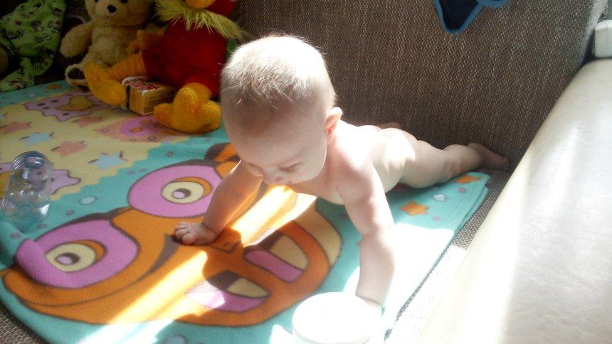 Отчёт по занятию Что умеет малыш в 6 месяцев в Wachanga!