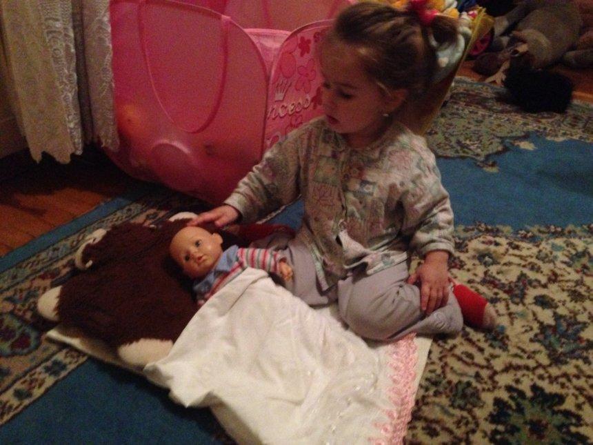 Отчёт по занятию Укладываем кукол спать в Wachanga!