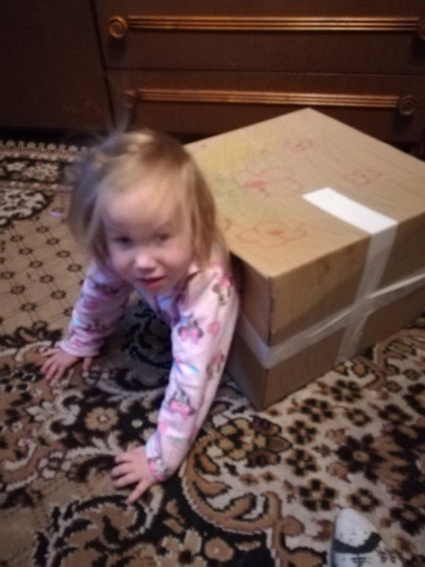 Отчёт по занятию Смастерите домик из коробки в Wachanga!