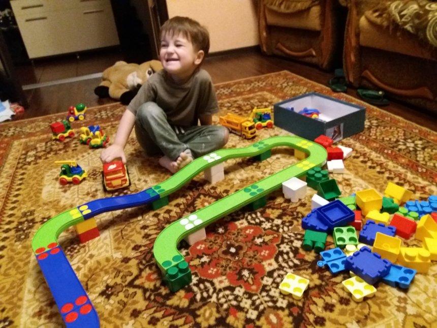 Отчёт по занятию Поиграйте вместе с ребёнком в строителей  в Wachanga!