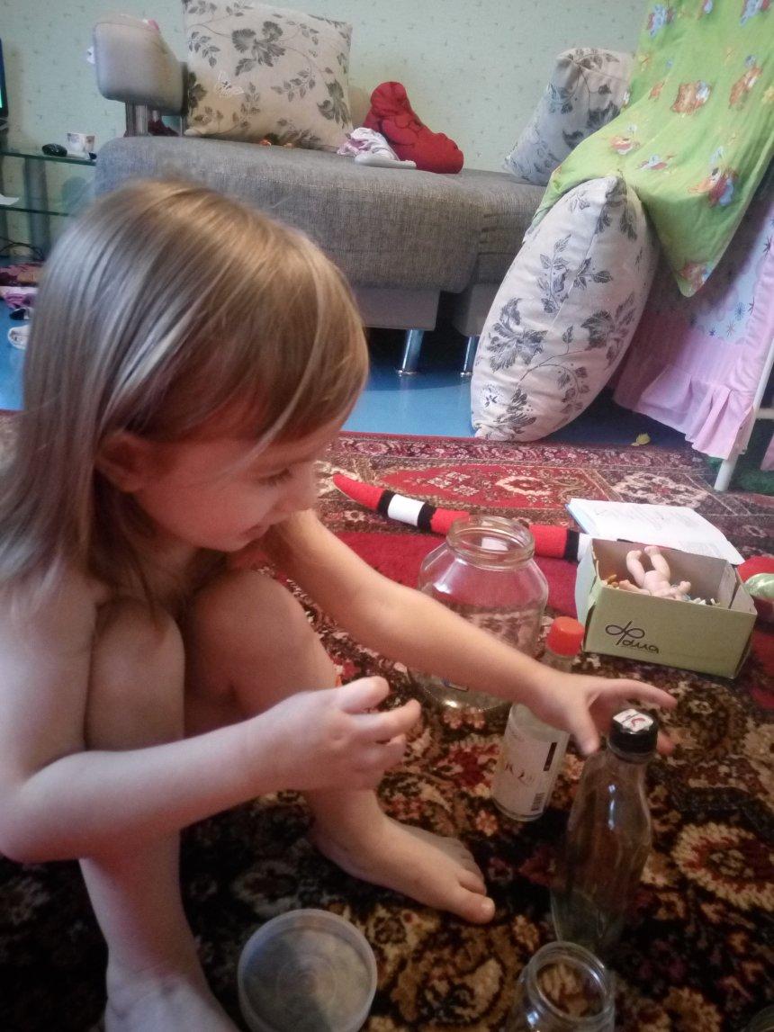Отчёт по занятию Игра «Банки и крышки» в Wachanga!