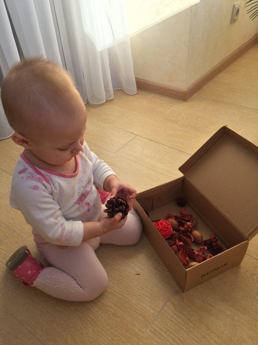Отчёт по занятию Осенняя сенсорная коробочка в Wachanga!