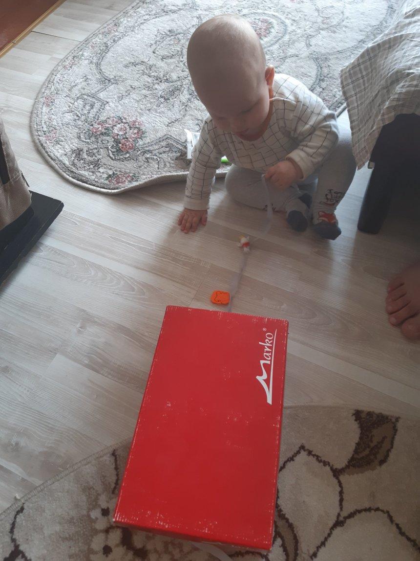 Отчёт по занятию Занимательная коробочка с игрушками в Wachanga!