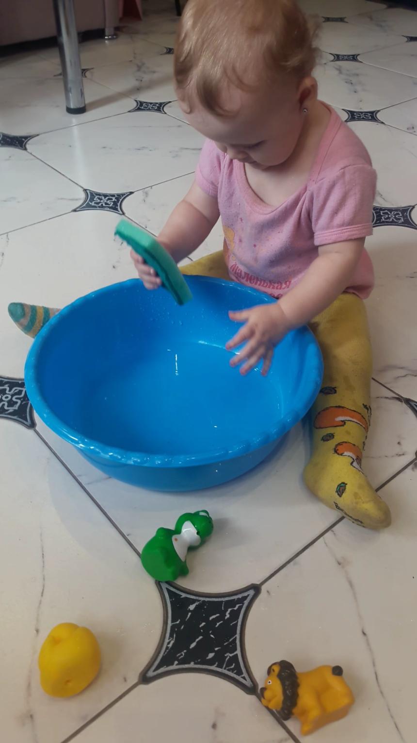 Отчёт по занятию Игры с водой и поролоном в Wachanga!