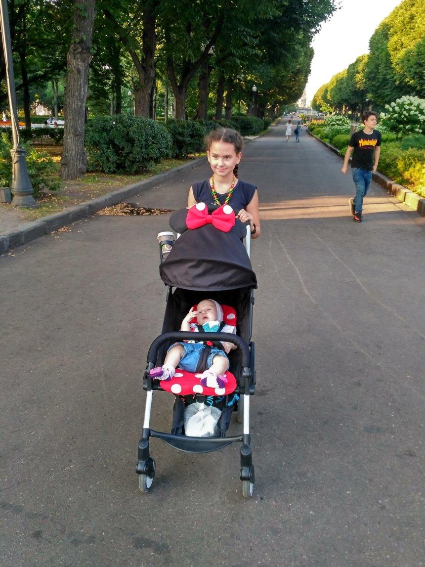 Отчёт по занятию Сфотографируйте малыша во время прогулки в Wachanga!