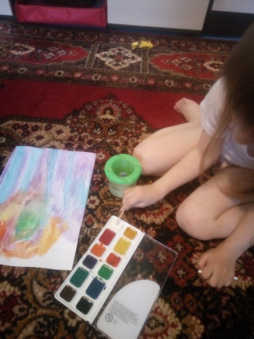 Отчёт по занятию Космос глазами малыша в Wachanga!