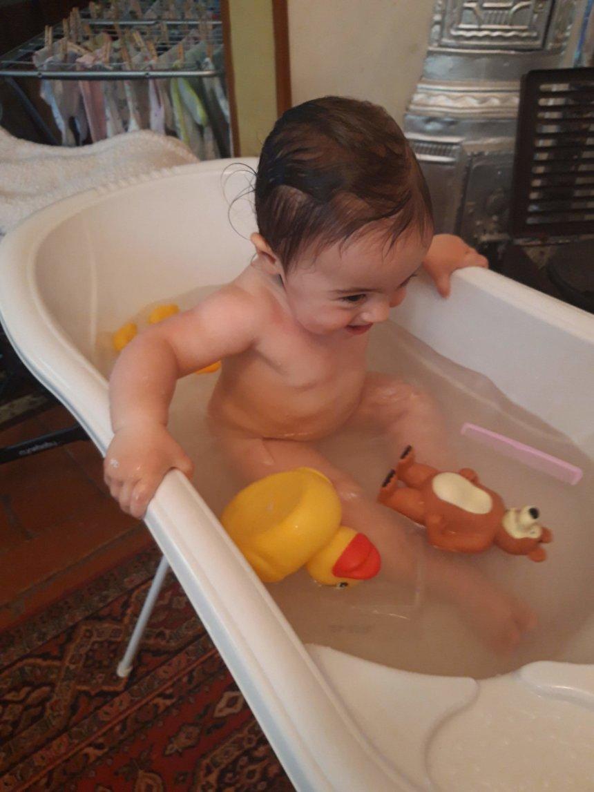 Отчёт по занятию Полезные игры в ванне в Wachanga!