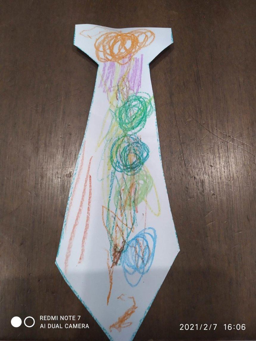 Отчёт по занятию Полосатый галстук в Wachanga!