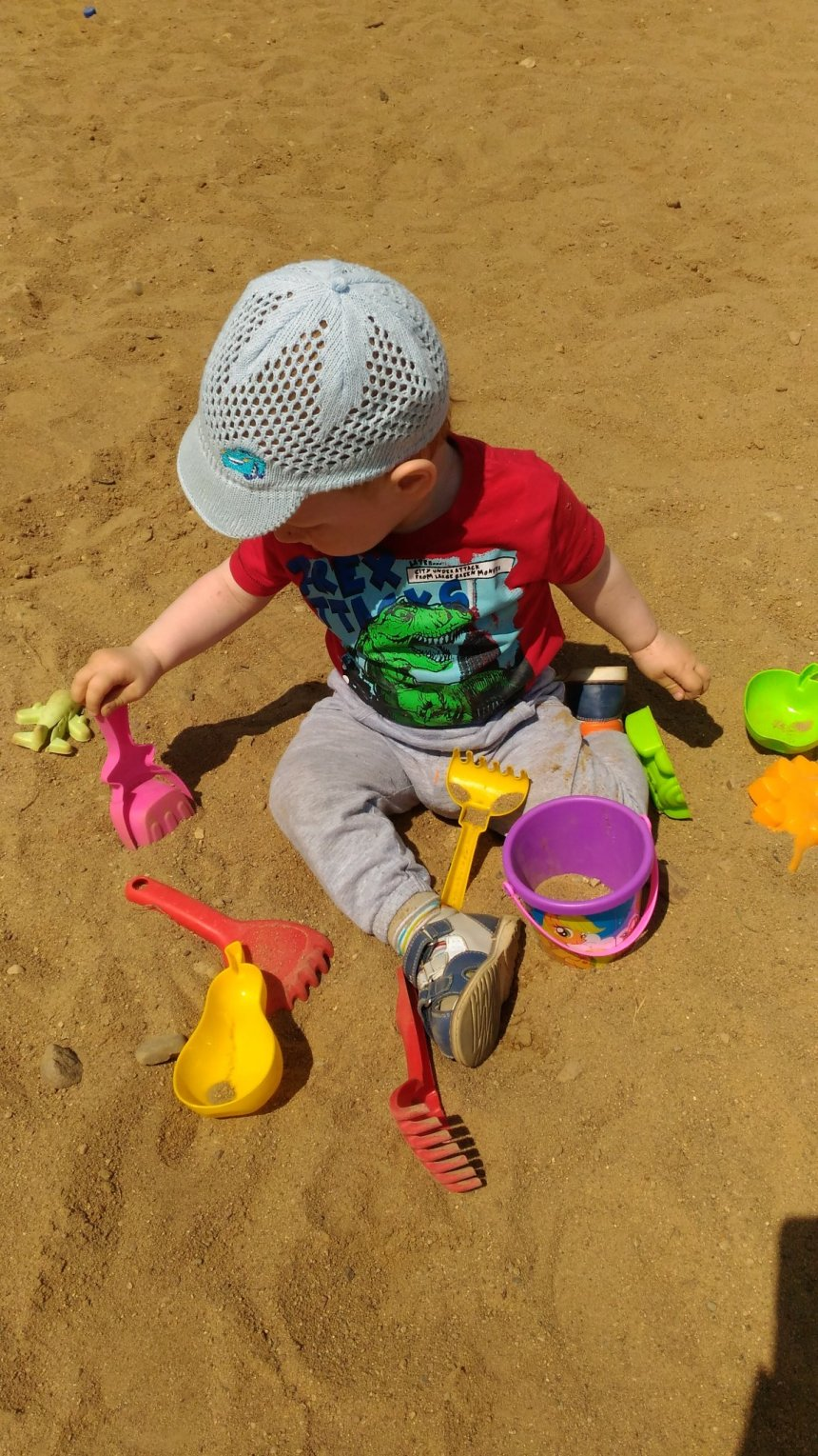 Отчёт по занятию Игры с ситом в песочнице в Wachanga!