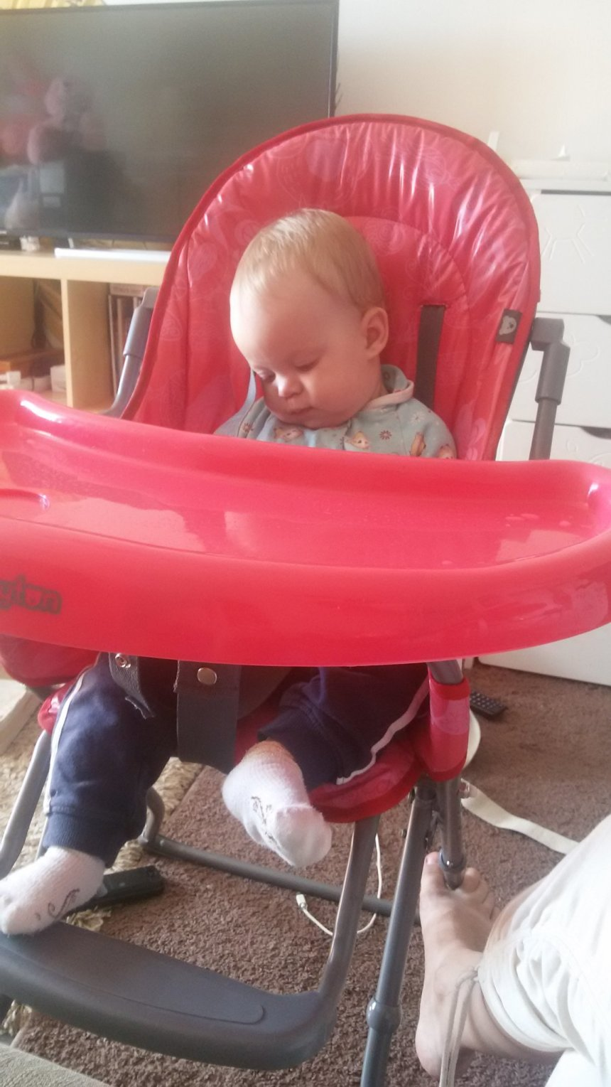 Activity report for 10 month old's motor skills  in Wachanga!