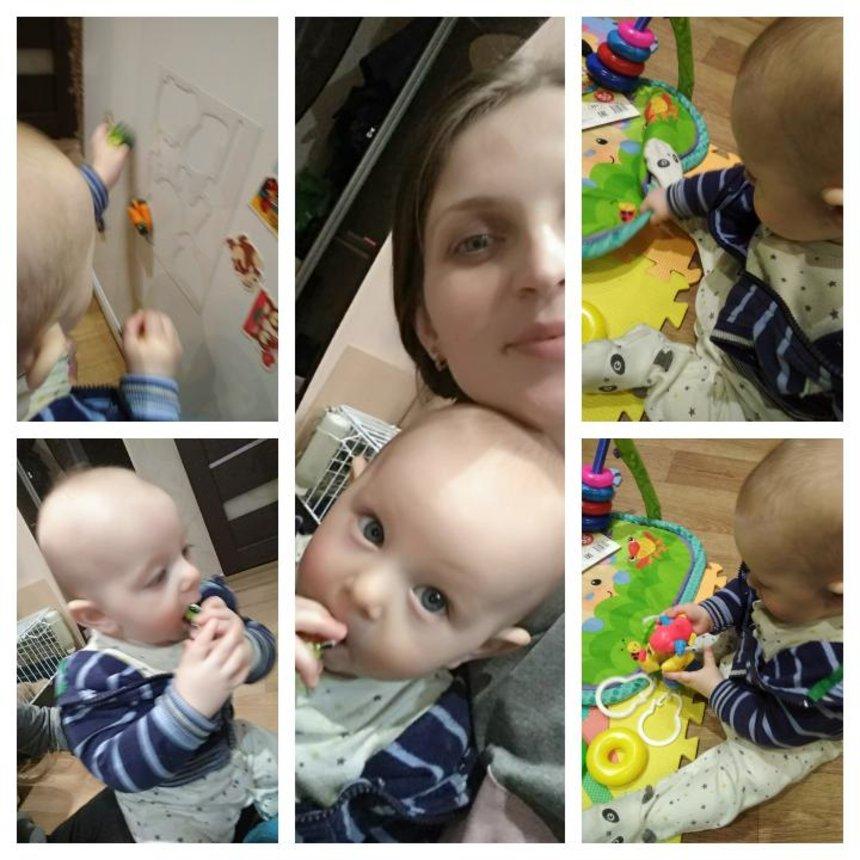 Отчёт по занятию Двигательное развитие ребенка в 6 месяцев в Wachanga!