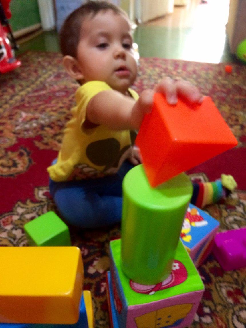 Отчёт по занятию Поиграйте с кубиками  в Wachanga!