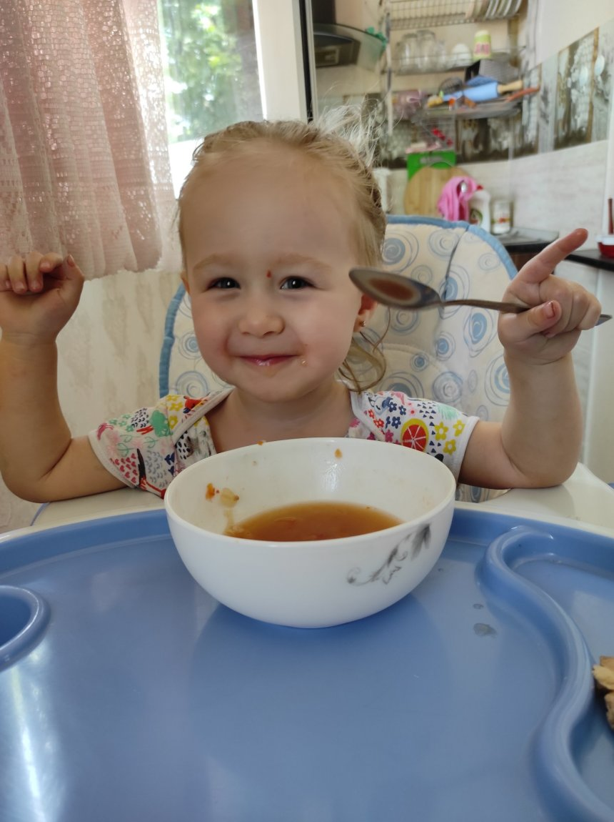 Отчёт по занятию Меню годовалого ребенка в Wachanga!