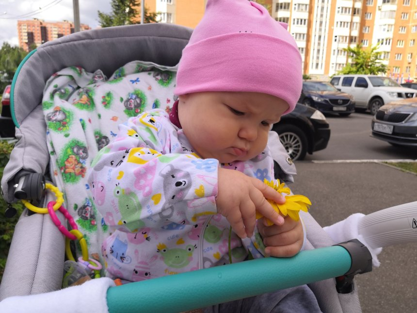 Отчёт по занятию Навыки и умения малыша в шесть месяцев в Wachanga!