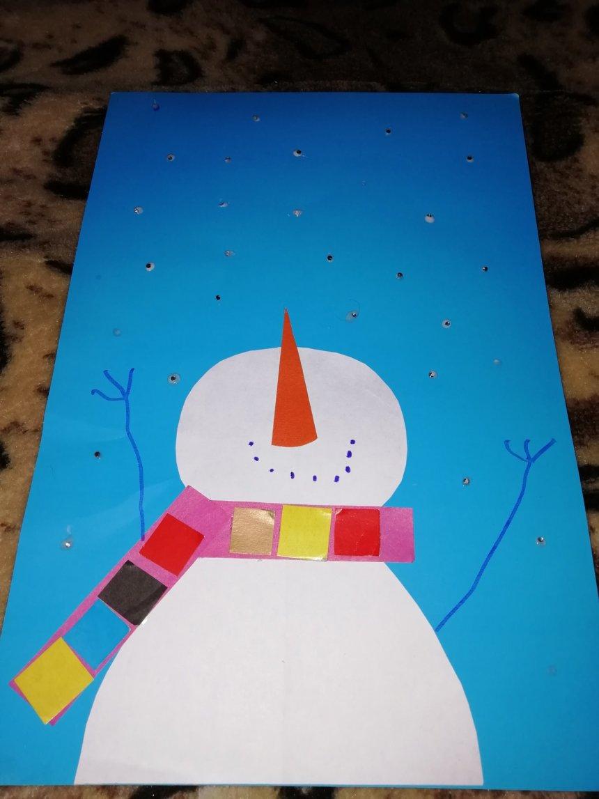 Отчёт по занятию Весёлый снеговик в Wachanga!