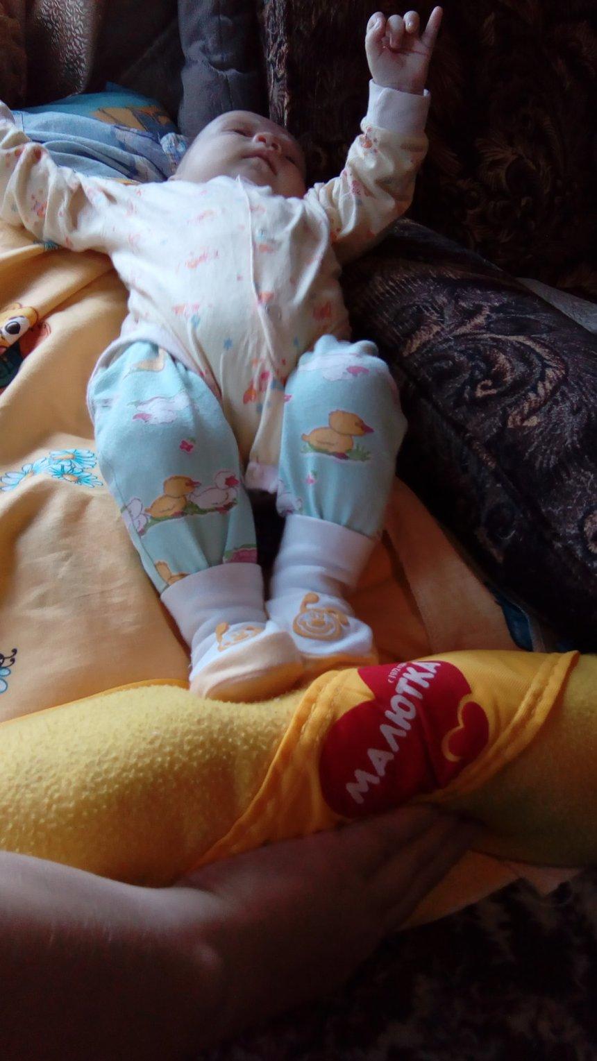Отчёт по занятию Укрепляем мышцы ног малыша  в Wachanga!