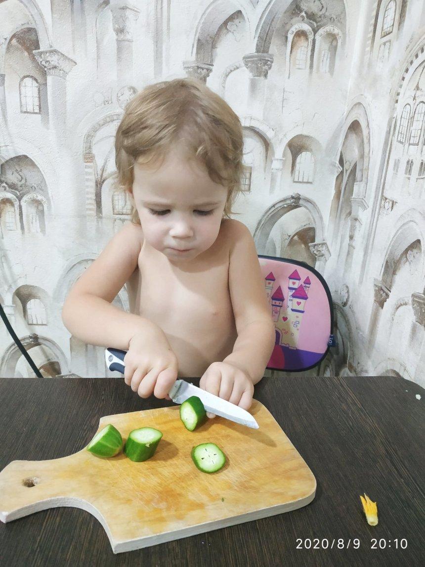 Отчёт по занятию Моем овощи в Wachanga!