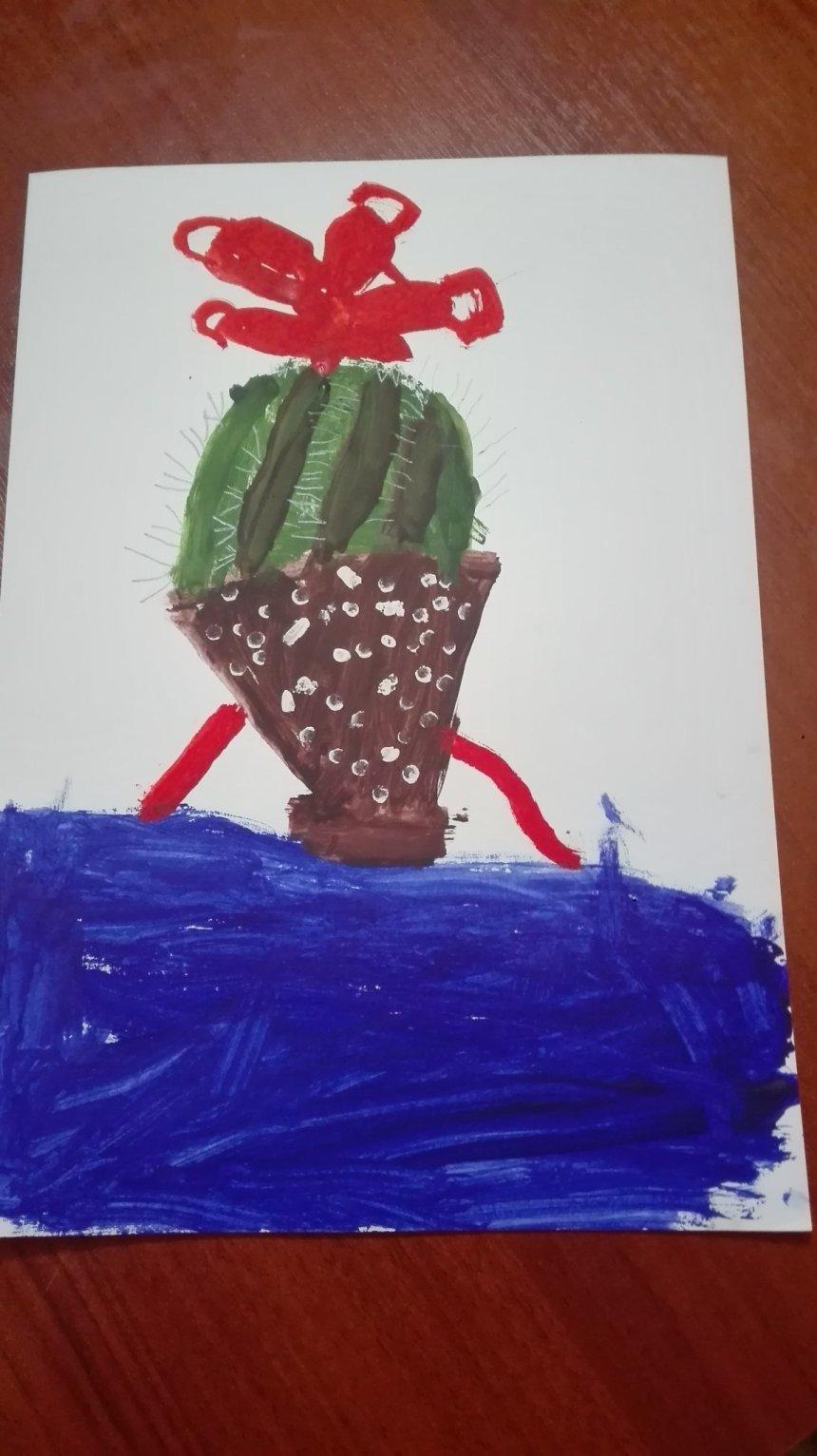 Отчёт по занятию Нарисуйте кактус в Wachanga!