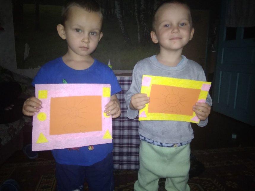 Отчёт по занятию Фоторамка из фетра для мамы в Wachanga!