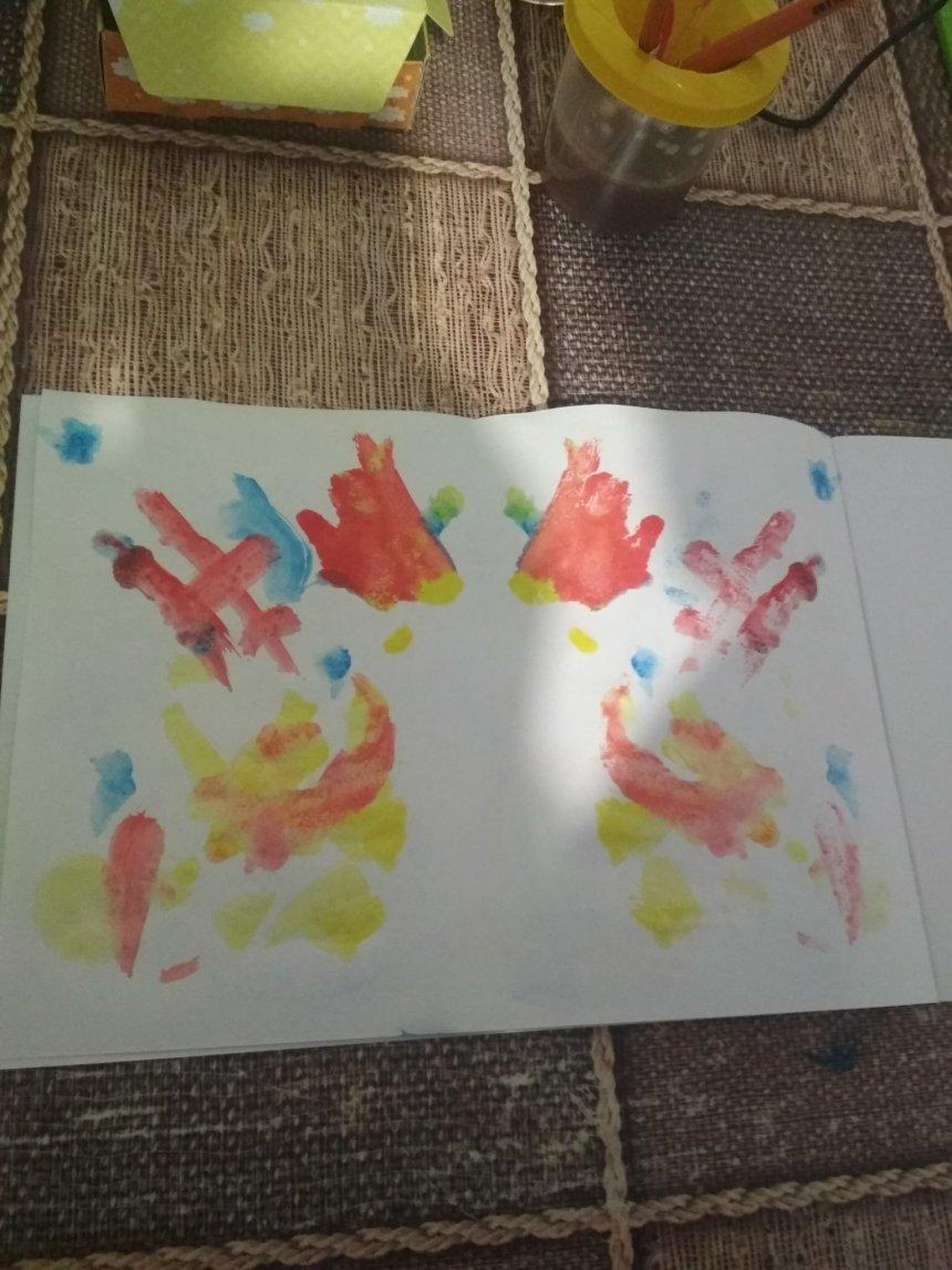 Отчёт по занятию Весёлая игра «Волшебные кляксы» в Wachanga!