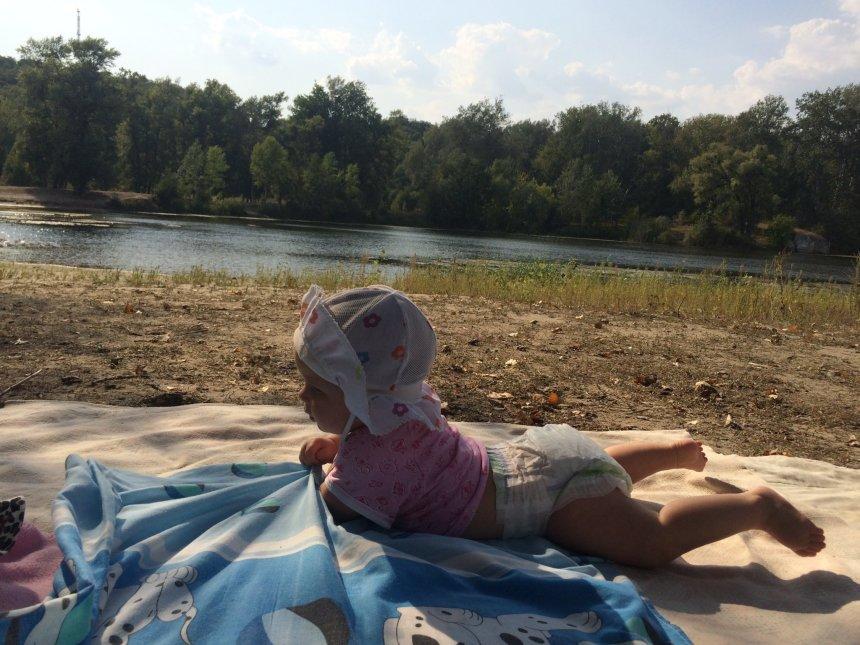 Отчёт по занятию Летние купания малыша в Wachanga!