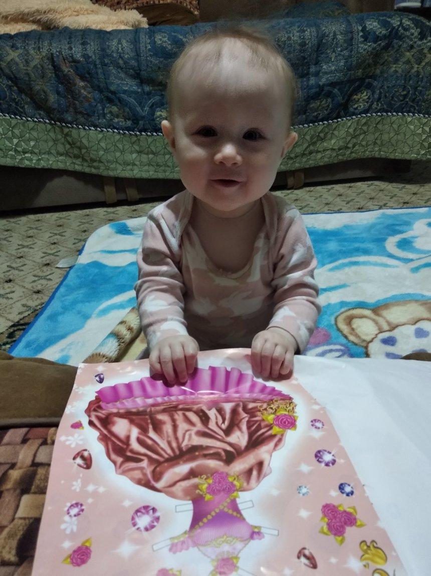Отчёт по занятию Научите малыша перелистывать странички книжек  в Wachanga!