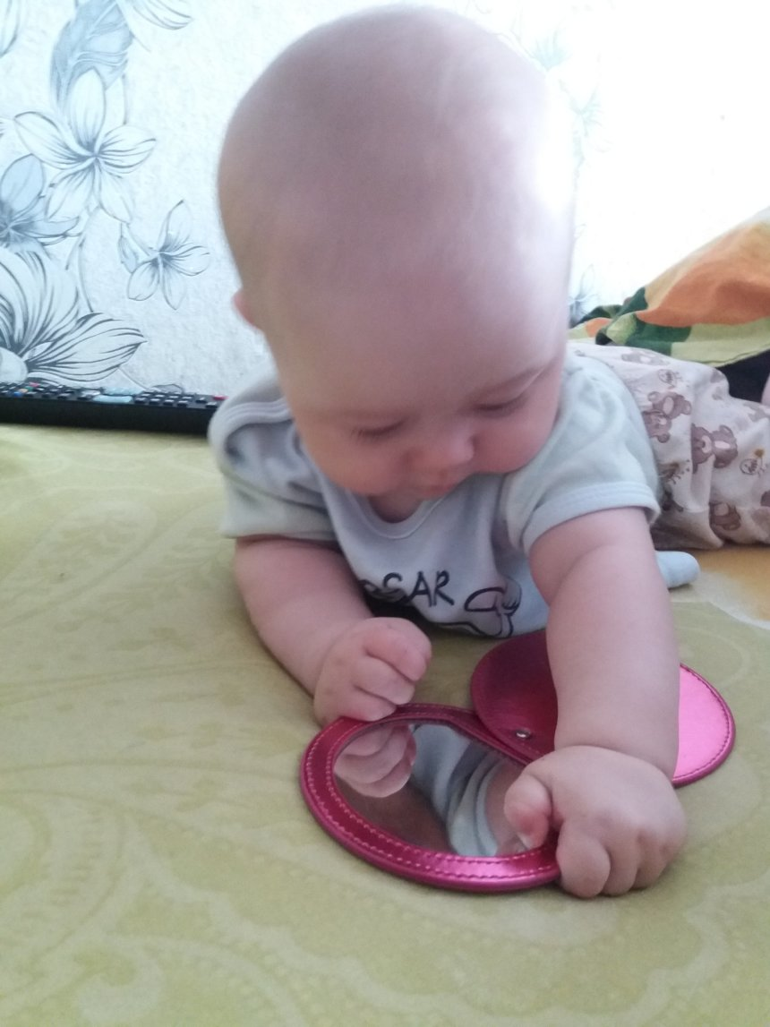 Отчёт по занятию Маленькое зеркало в Wachanga!