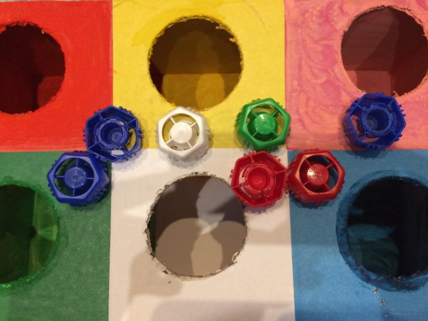 Отчёт по занятию Сортировка по цвету в Wachanga!