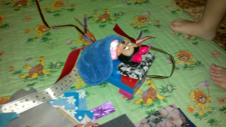 Отчёт по занятию Кусочки ткани в Wachanga!