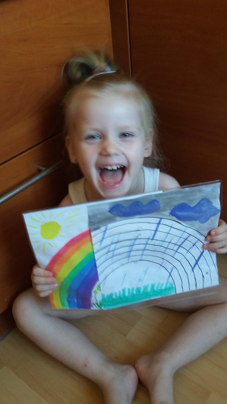 Отчёт по занятию Фокус с радугой в Wachanga!