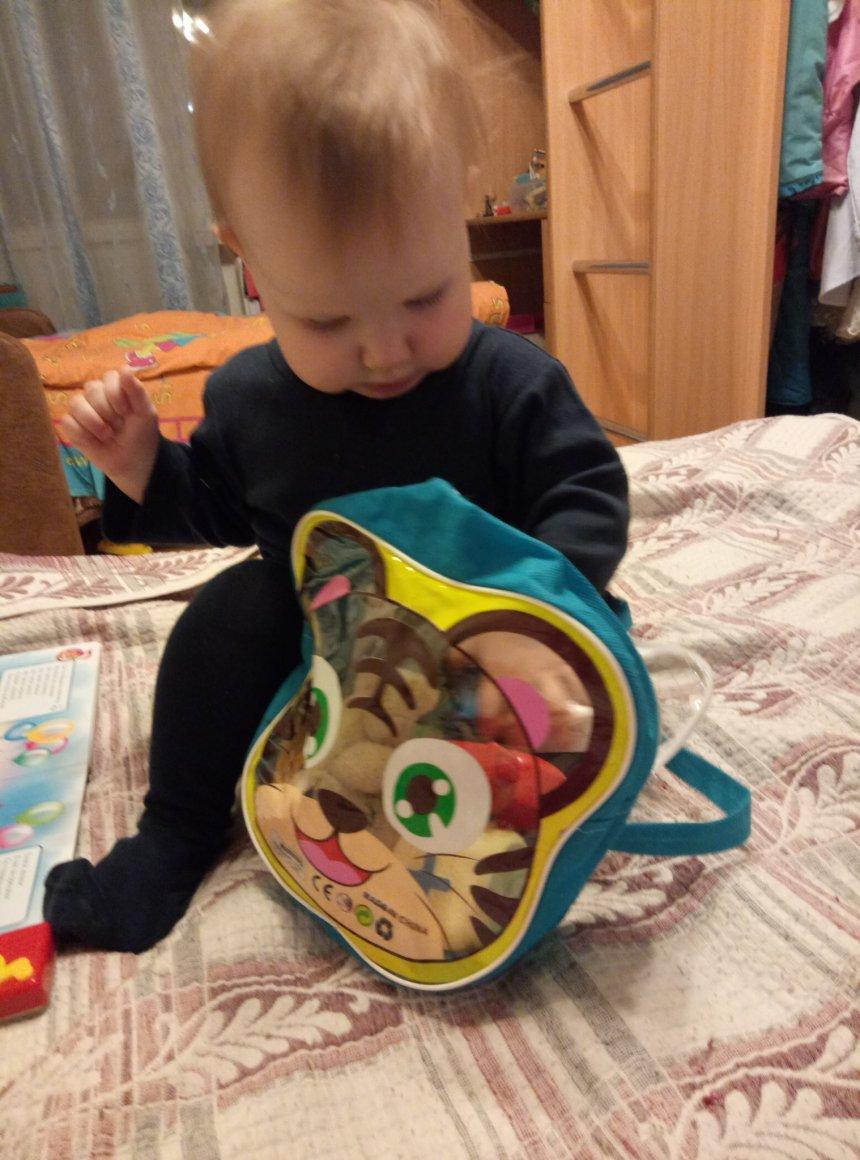 Отчёт по занятию Поиграйте с малышом в игру «Достань игрушку» в Wachanga!