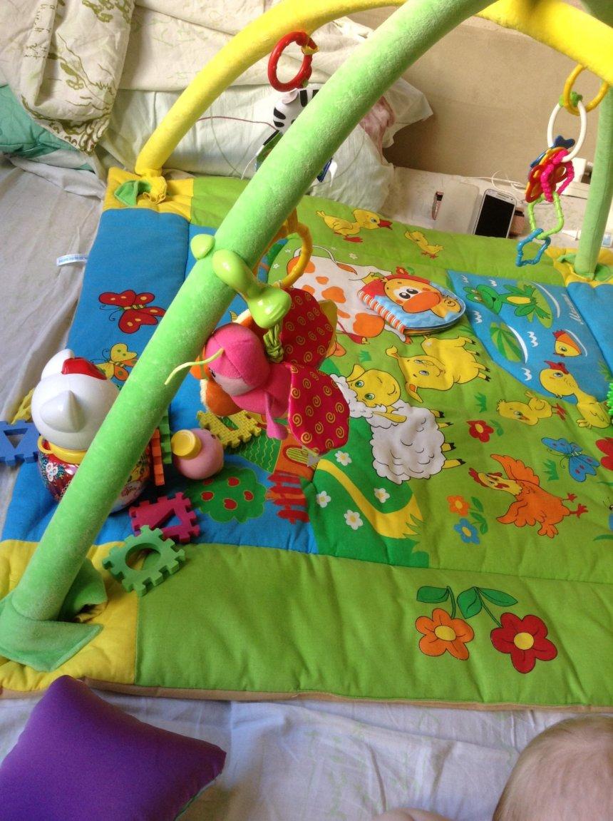 Отчёт по занятию Игрушки для малыша в Wachanga!