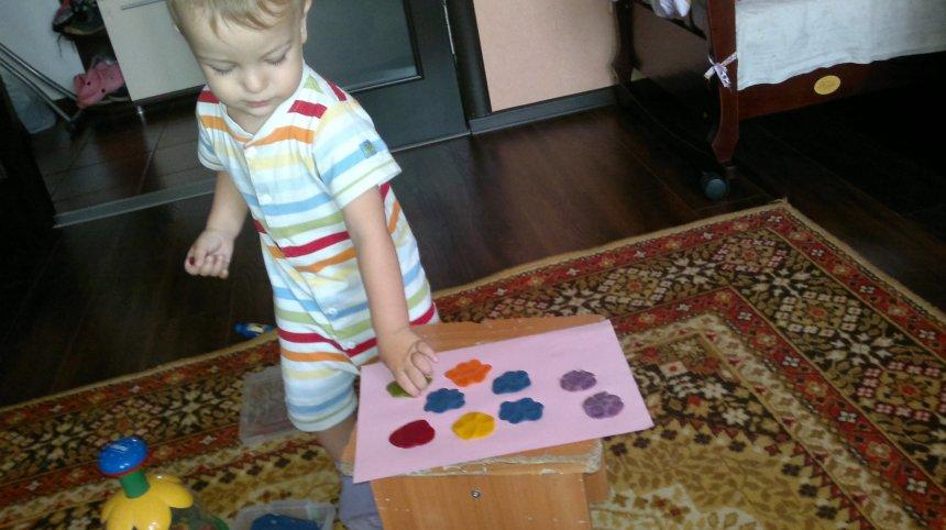 Отчёт по занятию Игры с пластилином в Wachanga!