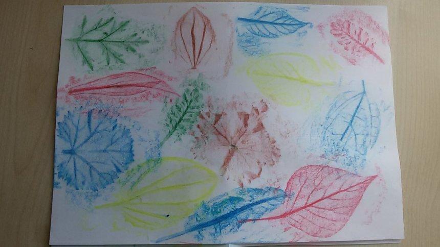 Отчёт по занятию Отпечатки листьев в Wachanga!
