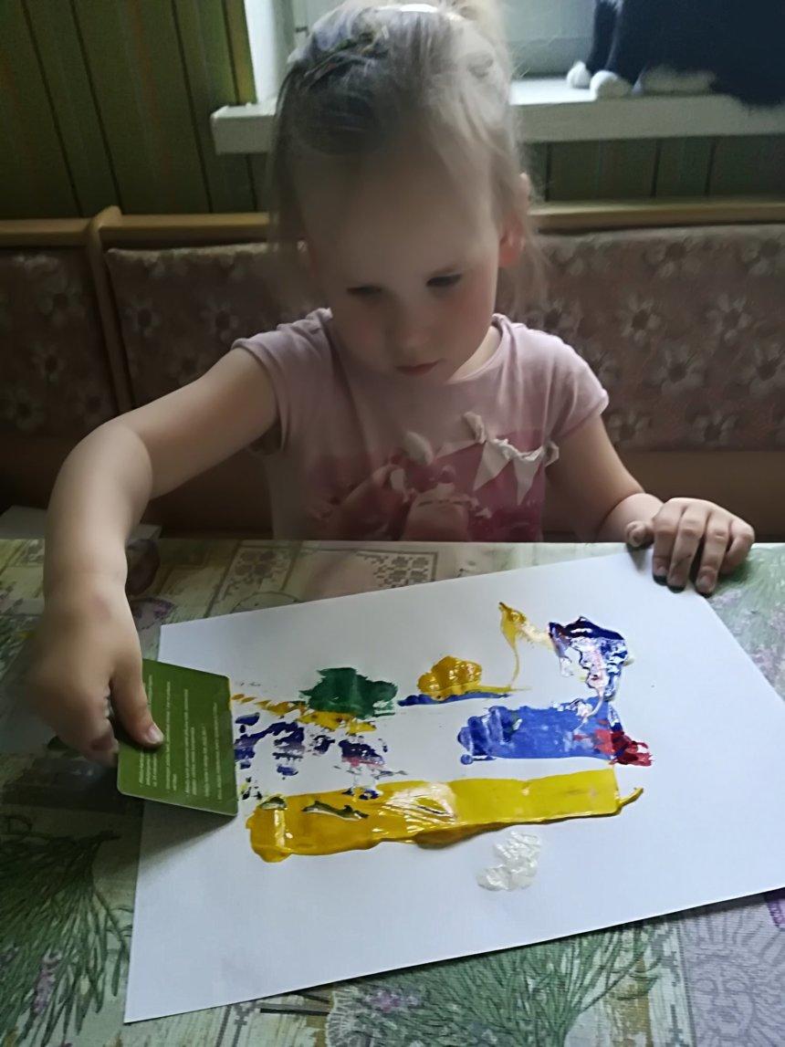 Отчёт по занятию Необычное рисование в Wachanga!